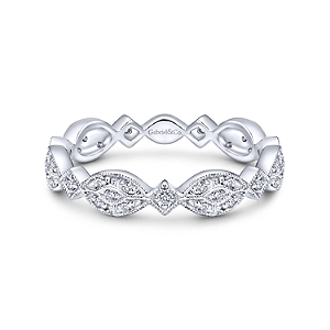 Ladies Diamond Band by Gabriel & Co
